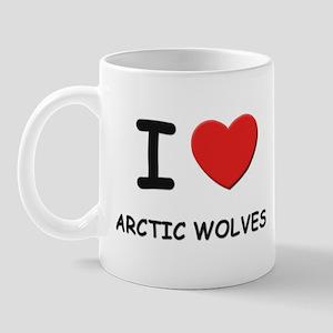 I love arctic wolves Mug