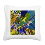 The City I Square Canvas Pillow