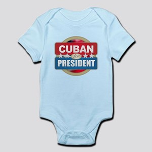 Cuban for President Body Suit