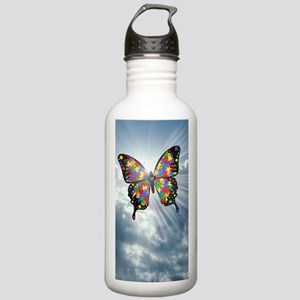 autismbutterfly - sky  Stainless Water Bottle 1.0L