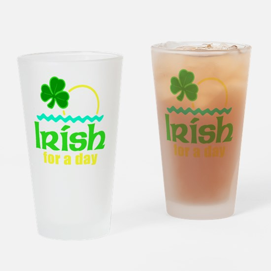 2-tshirt designs 0245 Drinking Glass