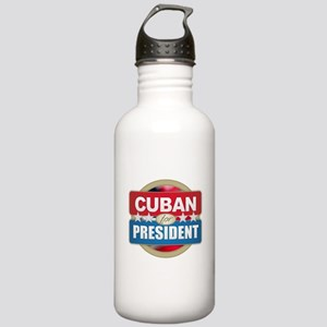 Cuban for President Stainless Water Bottle 1.0L