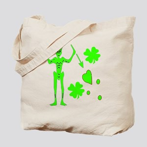 Blackbeard-Shamrock Tote Bag