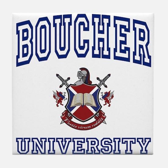 BOUCHER University Tile Coaster
