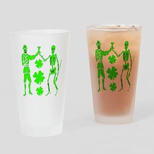 Bart Robert #2-Shamrock Drinking Glass