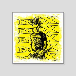 """philXguitar2 Square Sticker 3"""" x 3"""""""