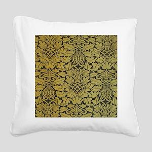 wmipadgold Square Canvas Pillow