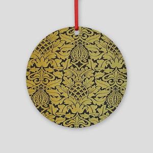 wmipadgold Round Ornament