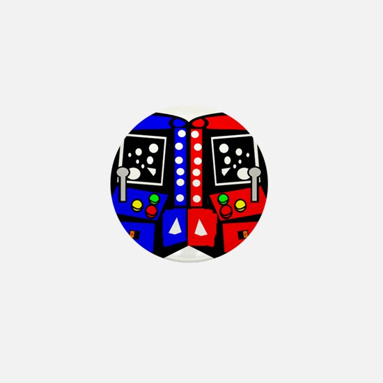 Vintage Arcade Games Mini Button