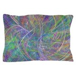 Heart of Light Abstract Flames Pillow Case
