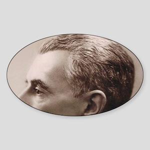 Maurice Ravel Sticker (Oval)