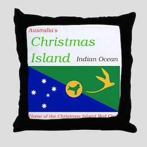 Christmas_Island1 Throw Pillow
