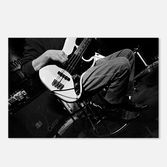 Bass Guitar-022 Postcards (Package of 8)