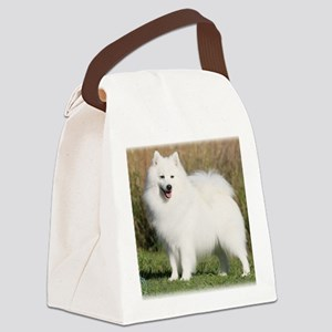 Japanese Spitz 9Y576D-265 Canvas Lunch Bag