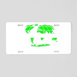 soinc_dark Aluminum License Plate