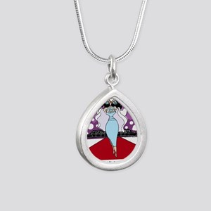 highmaintenace Silver Teardrop Necklace