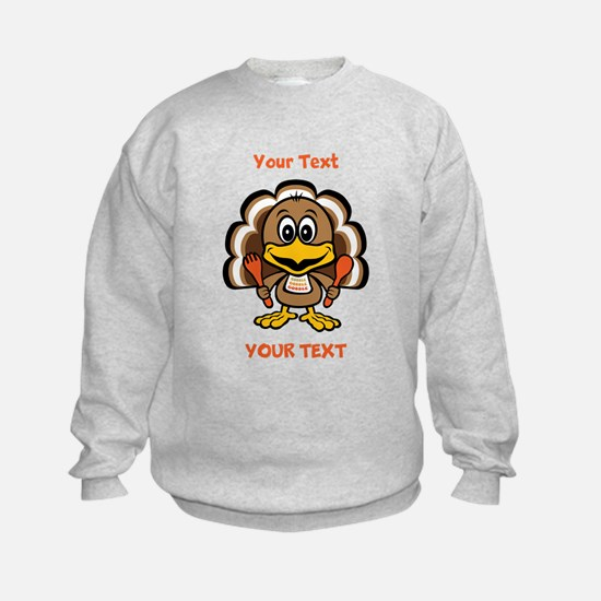 Personalize Little Gobbler Sweatshirt