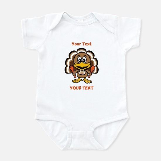 Personalize Little Gobbler Infant Bodysuit