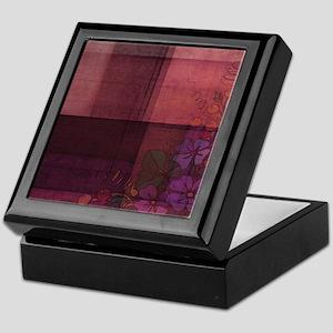 burgundy touch Keepsake Box