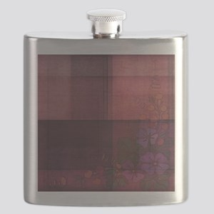 burgundy touch Flask