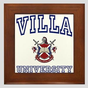 VILLA University Framed Tile