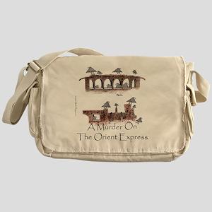 Murder on the Oriental Express 10x10 Messenger Bag