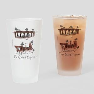 Murder on the Oriental Express 10x1 Drinking Glass