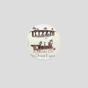 Murder on the Oriental Express 10x10 A Mini Button