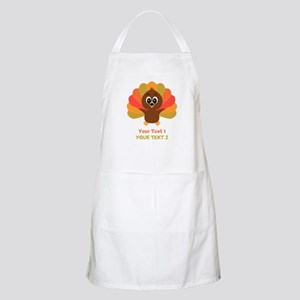 Personalize Little Turkey Apron