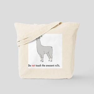 llama8-white Tote Bag