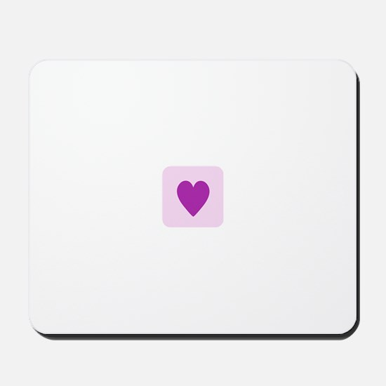 """Love """"heart"""" Mousepad"""