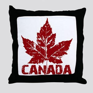 canada-maple-leaf Throw Pillow