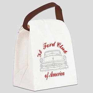 Black_Car Canvas Lunch Bag