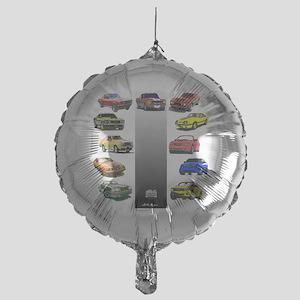 3-50yearsa Mylar Balloon
