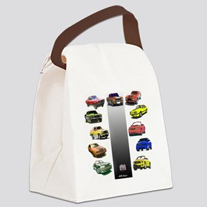 3-50yearsa Canvas Lunch Bag