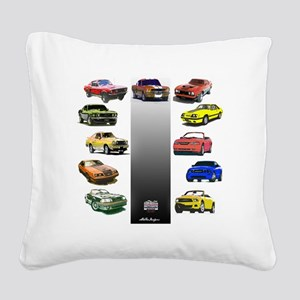 3-50yearsa Square Canvas Pillow