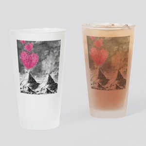 volcanoes image Drinking Glass