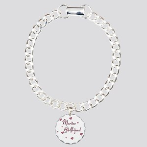 2-Marine girlfriend Charm Bracelet, One Charm