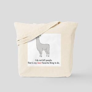 llama2-white Tote Bag