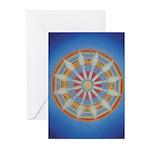 Chakra Wheel Cards (Pk of 10)