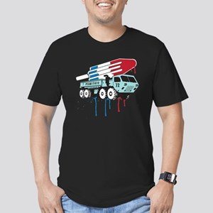 TruckPop Men's Fitted T-Shirt (dark)