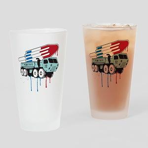 TruckPop Drinking Glass