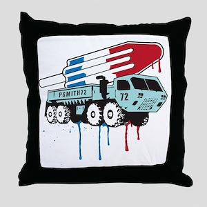 TruckPop Throw Pillow