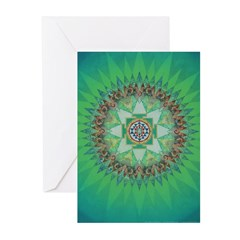 Sri Yantra Card (Pk of 10)