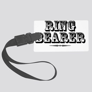 ringbearer-western Large Luggage Tag
