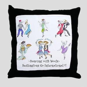 Shirts-light-Dancing Bedlies Throw Pillow