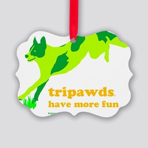 Three Legged Dogs Have More Fun L Picture Ornament