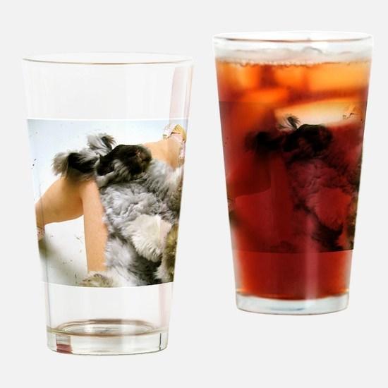 23x35_printlap Drinking Glass