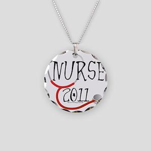 nurse - nurse 2011 Necklace Circle Charm