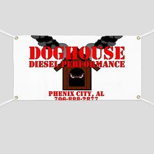 Doghouse Tshirt Rear Banner